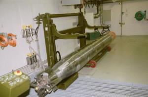 Ein torpedo på travers.